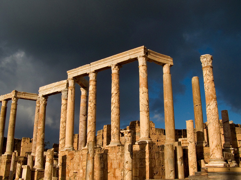 Theater, Leptis Magna
