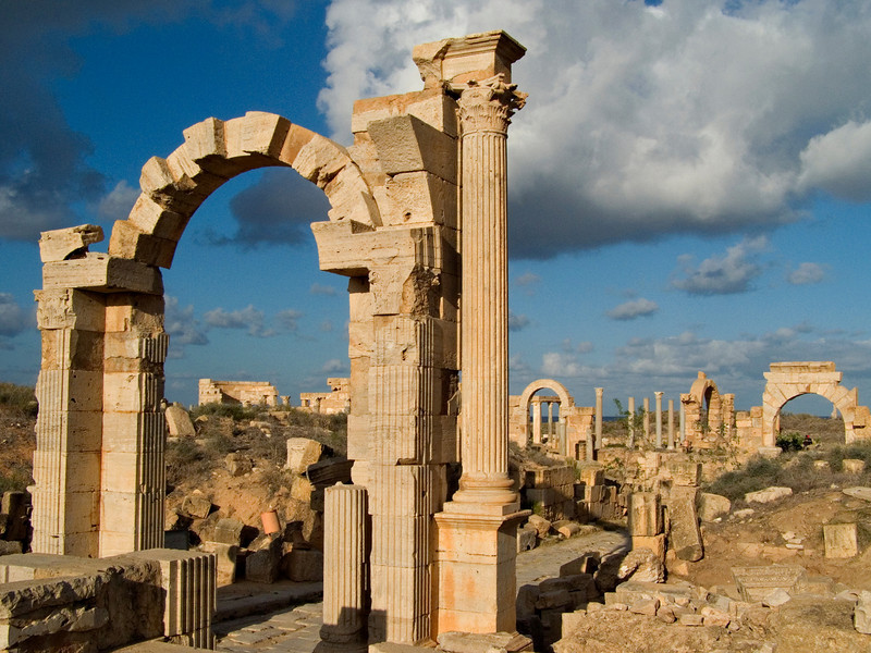 Arch of Trajan, Leptis Magna