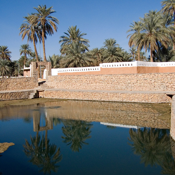 Ain al Faras, Ghadames.  A major reason for the city's long life was the underground water that provided all of its needs.  This is called the Spring of the Mare.