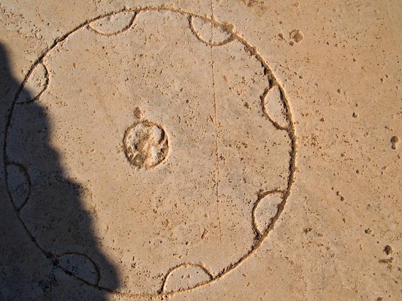 Game board, Leptis Magna