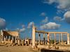Market, Leptis Magna