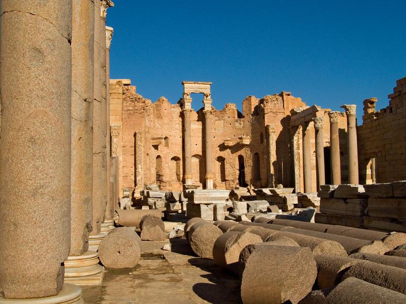 Severan basilica, Leptis Magna