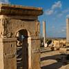 Ship images, market, Leptis Magna