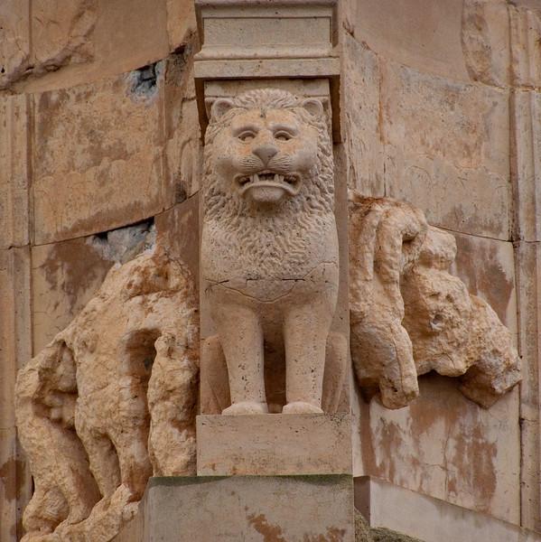 Bes temple detail, Sabratha