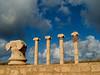 Columns, old forum, Leptis Magna