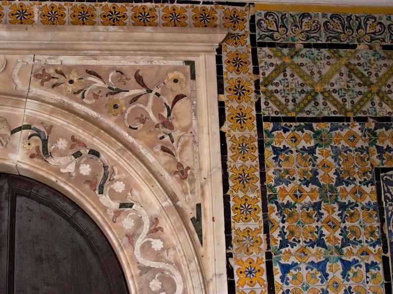 Door detail, Gurgi Mosque, Tripoli