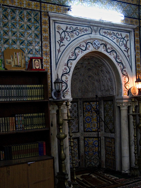 Mihrab, Gurgi Mosque, Tripoli