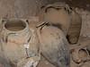 Storage jars, Qasr al Hajj