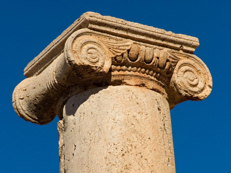 Ionic column, Leptis Magna