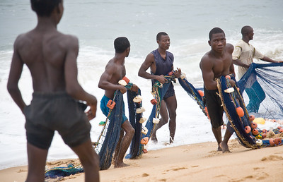Sierra Leonean fishing village of Sulima