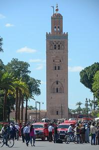 Koutoubia mosque...