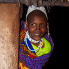 Maasai Chief's wife.