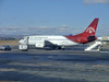 Air Madagascar 737 at Tana Airport