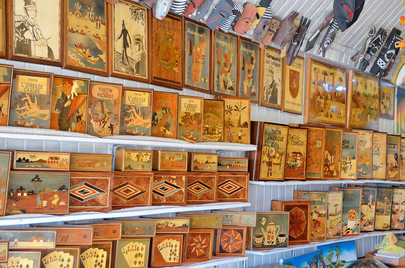 Marquetry Boxes at the Artisan Market