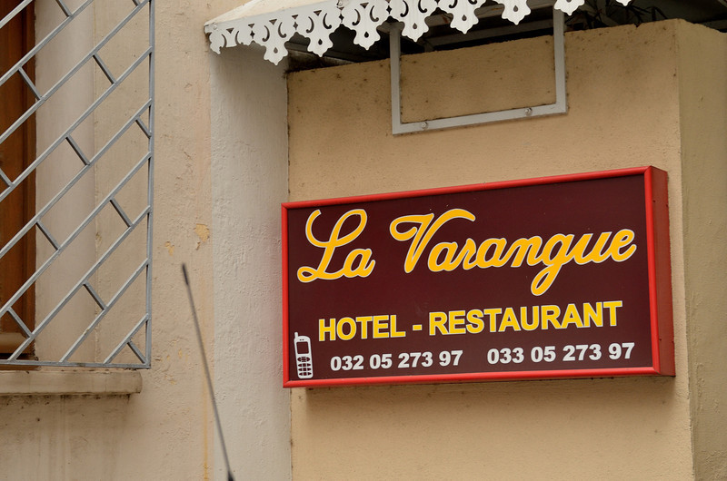 Our farewell dinner at La Varangue Restaurant