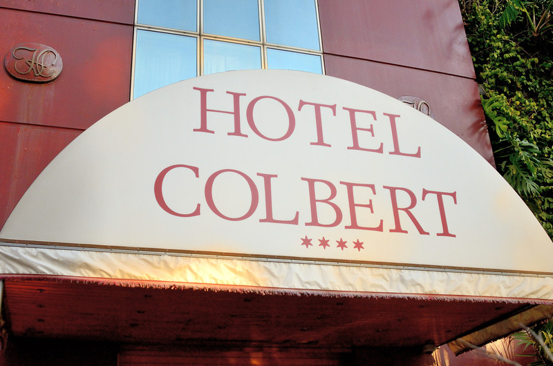 Our home in Antananarivo, the Hotel Colbert