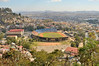 view from the Upper City - Mahamasina Stadium and Palace of culture and sports