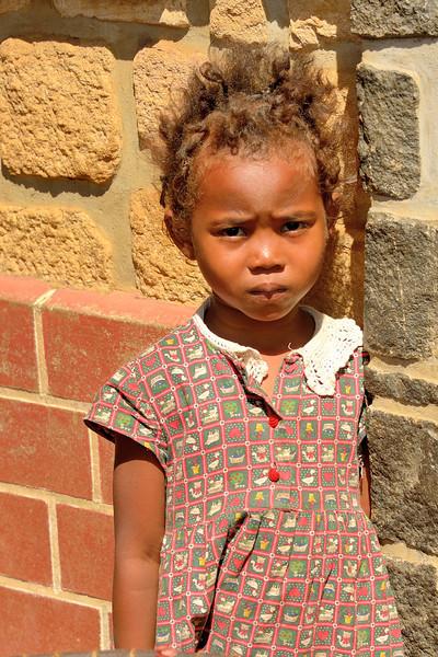 Little girl in Antsiranana (Diego-Suarez)