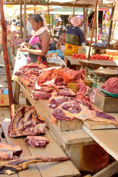 More Zebu cattle at the Antsiranana Market