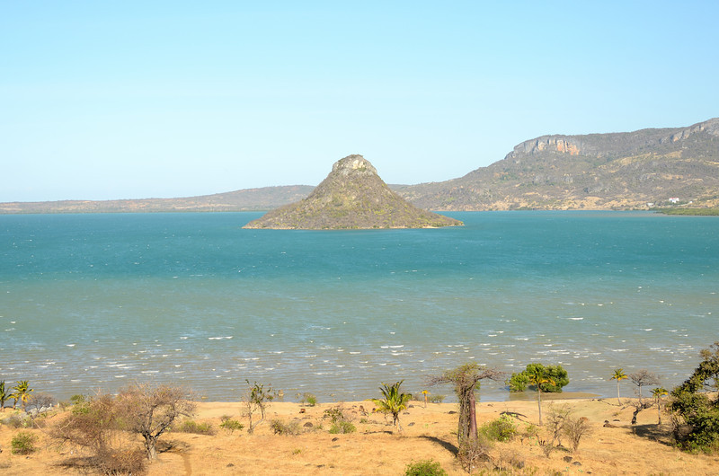 Sugar Loaf, a volcanic cone, in Antsiranana Bay