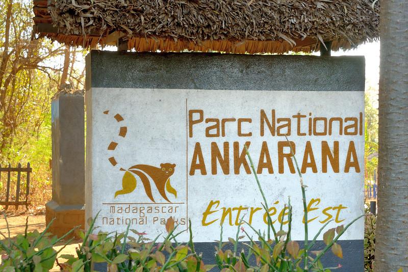 Ankarana Park Entrance