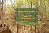 Trail Sign at Ankarana National Park