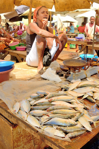 Fishmongers at Antsiranana Market