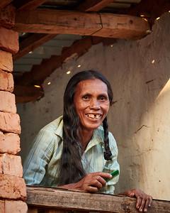 Malagasy Woman of Tsahabe, in Window