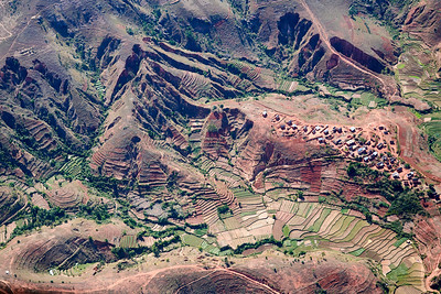 Aerial Scene on the Way to Masoala