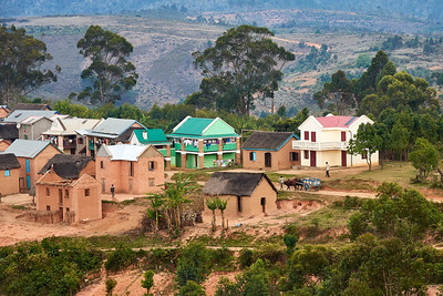 Tsahabe Village near Saha - Central Road