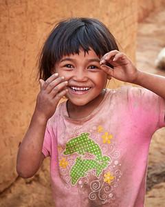 Malagasy Girl of Tsahabe, Cheerful - M