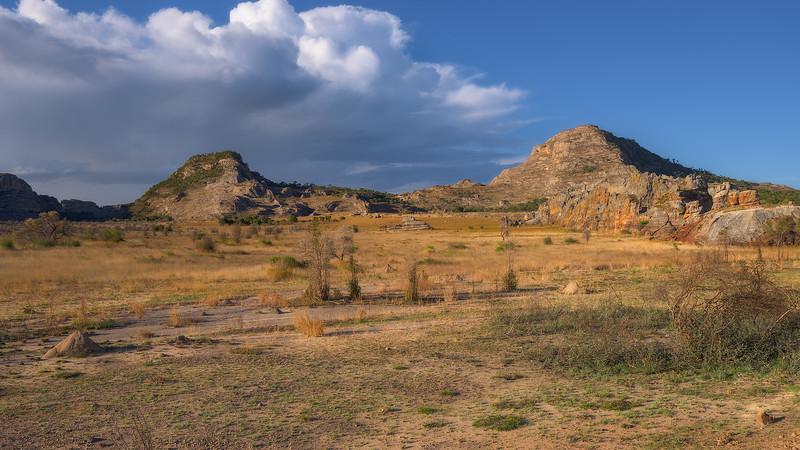 """Mountains Near """"Window of Isalo"""""""