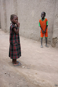 Children in Djenne