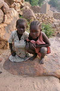 Children in Nombori, Dogon Country