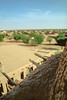 The tomb of Askia Muhammad - World Heritage.<br /> On top of the tomb You have an overlook of the city's mud-buildings.