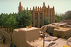 Wonderful Banco architectrure: Old town and mosque in Mopti