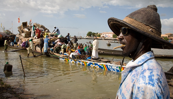 Mopti on the Niger River