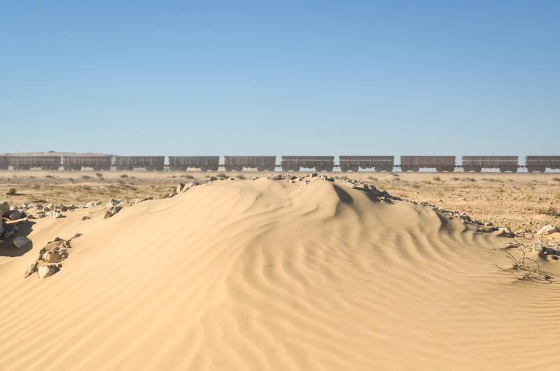 SNIM iron ore train