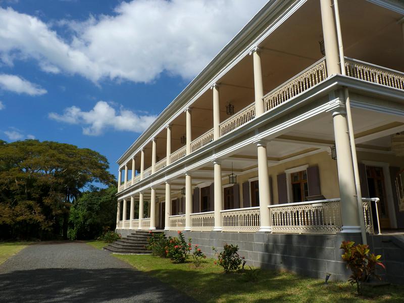 Chateau de Labourdonnais, Mapou, Mauritius.  This attractive old plantation house was my first stop.