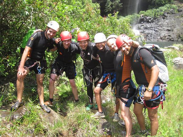 Canyoning Tamarin Falls