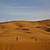 Running barefoot through the Sahara
