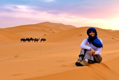 Erg Chebbi Sand Dunes