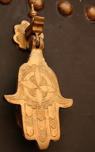 Interesting door knocker
