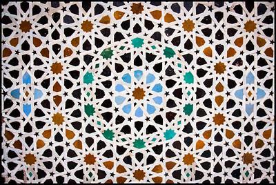 Mosaic detail, Bou Inania Medersa