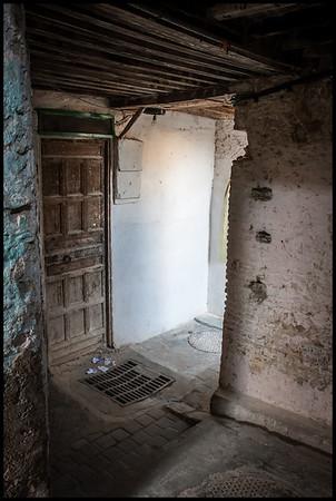 Doorway deep in the Medina, Fes