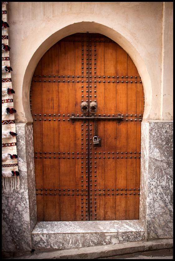 Door, Fes Medina