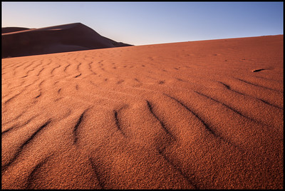 Early light, Erg Chebbi dunes