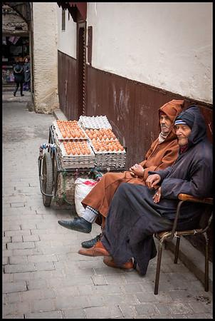 Eggs for sale, Fes Medina