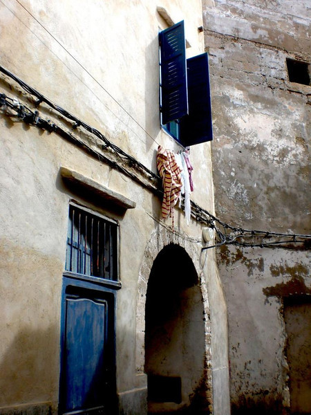 A home in Essaouira, Morocco.
