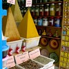 Spices for sale in Essaouira, Morocco.